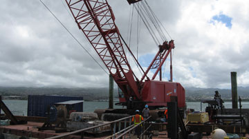 Crane inspection in Hawaii